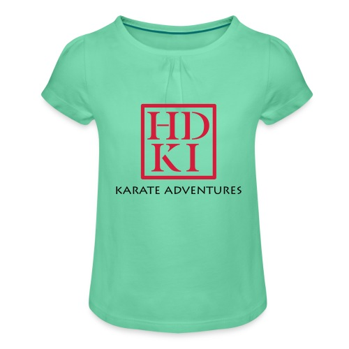 Karate Adventures HDKI - Girl's T-Shirt with Ruffles