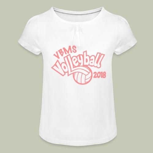 VBMS VB 2018 - T-shirt à fronces au col Fille