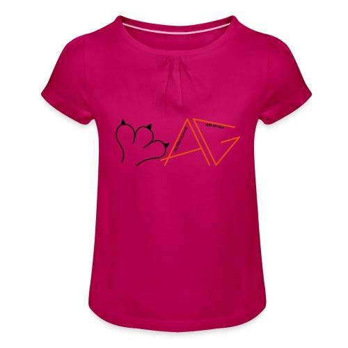 Alterazione Genetica - Maglietta da ragazza con arricciatura