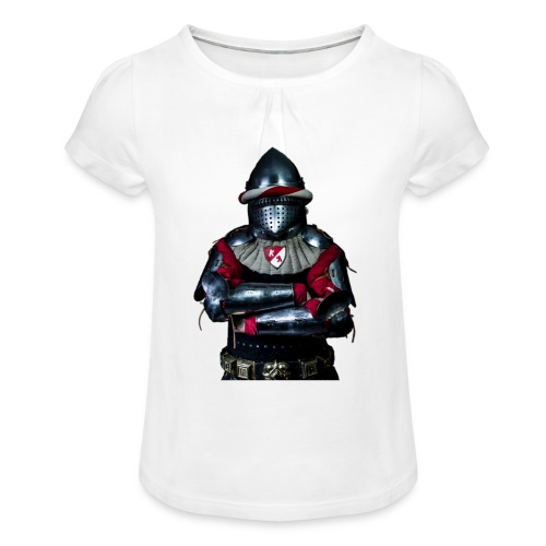 chevalier.png - T-shirt à fronces au col Fille