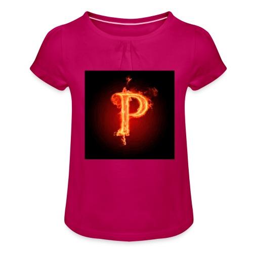 Power player nuovo logo - Maglietta da ragazza con arricciatura