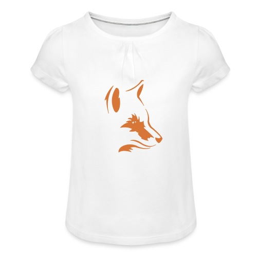 Foxes Squad - Girl's T-Shirt with Ruffles
