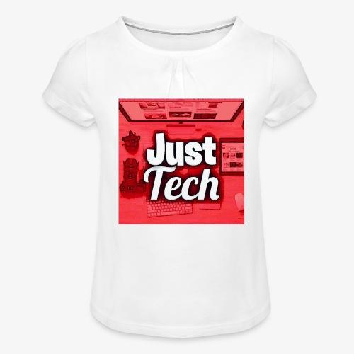 IMG 20180715 180358 550 - Meisjes-T-shirt met plooien