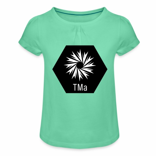 TMa - Tyttöjen t-paita, jossa rypytyksiä