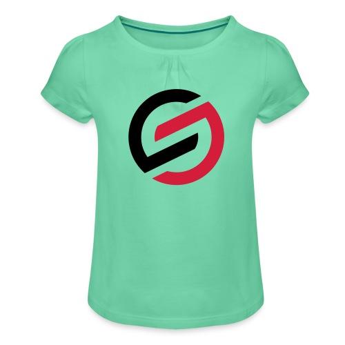 SDD Team Shirt - Mädchen-T-Shirt mit Raffungen