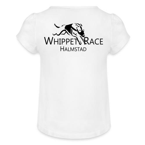 wr original - T-shirt med rynkning flicka