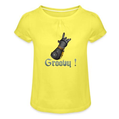 Dungeon Groovy ! - T-shirt à fronces au col Fille