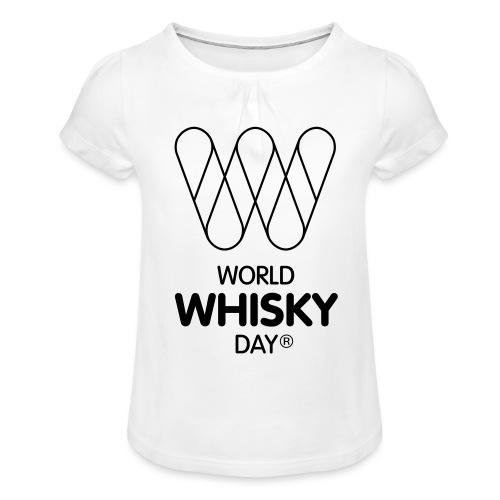 WWD logo - Girl's T-Shirt with Ruffles