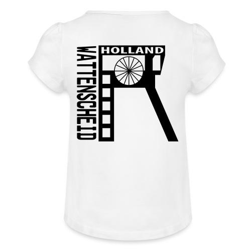 Zeche Holland (Wattenscheid) - Mädchen-T-Shirt mit Raffungen