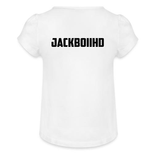 JackBoiiHD - Girl's T-Shirt with Ruffles