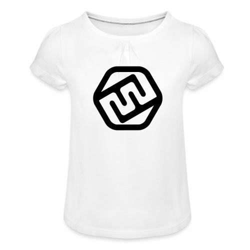 TshirtFFXD - Mädchen-T-Shirt mit Raffungen
