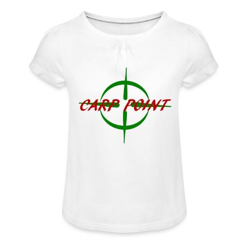 Carp Point - Mädchen-T-Shirt mit Raffungen