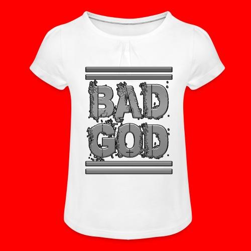 BadGod - Girl's T-Shirt with Ruffles