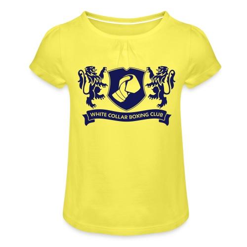 White Collar Boxing Sportsbag - Mädchen-T-Shirt mit Raffungen