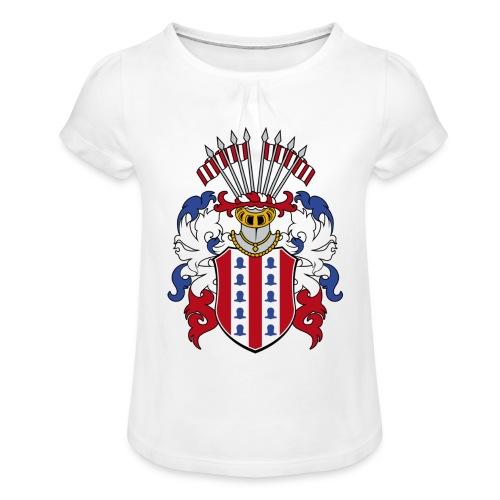 wappen amelunxen historisch - Mädchen-T-Shirt mit Raffungen