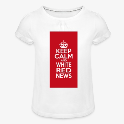 cover cellulare jpg - Maglietta da ragazza con arricciatura