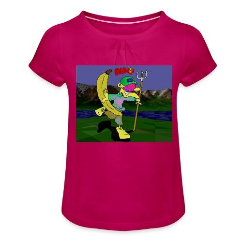 Bruno II - Jente-T-skjorte med frynser