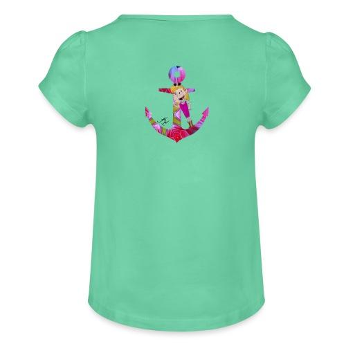 L'ancre d'Agathe - T-shirt à fronces au col Fille