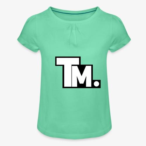 TM - TatyMaty Clothing - Girl's T-Shirt with Ruffles