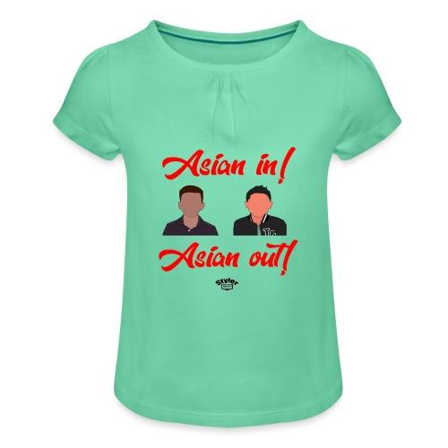 Special voor Tygo - Meisjes-T-shirt met plooien