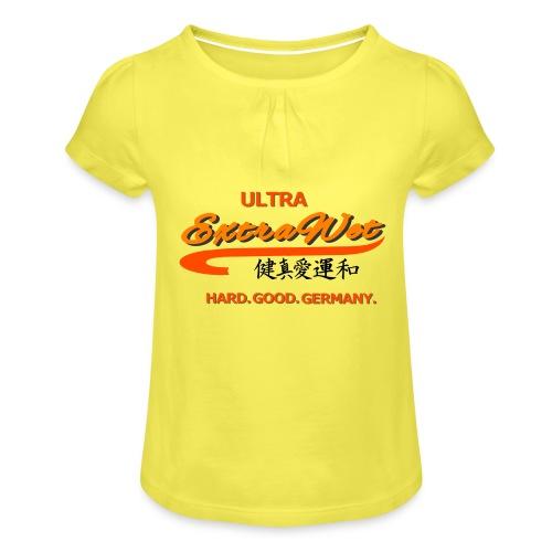 Extrawet - Mädchen-T-Shirt mit Raffungen