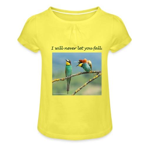 Amigos por siempre. - Camiseta para niña con drapeado