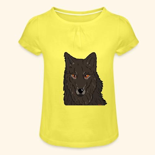 HikingMantis - Pige T-shirt med flæser