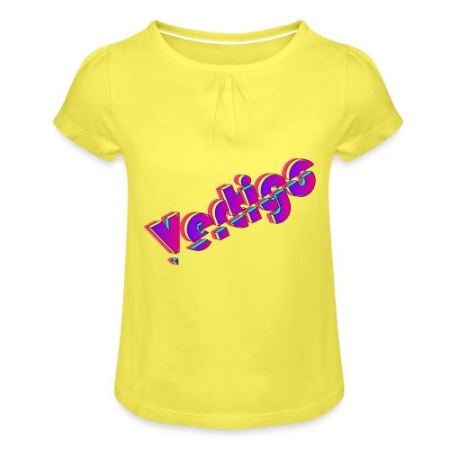 Vertigo - Camiseta para niña con drapeado