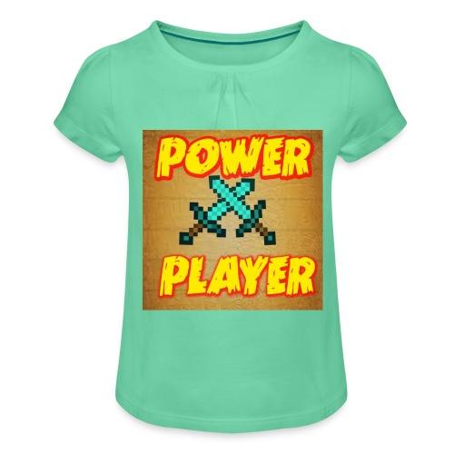 NUOVA LINEA POWER PLAYER - Maglietta da ragazza con arricciatura