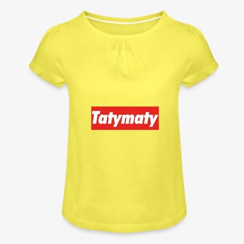TatyMaty Clothing - Girl's T-Shirt with Ruffles
