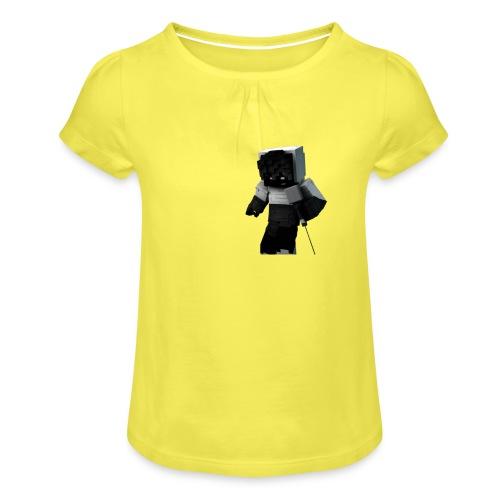 RexGame - T-shirt à fronces au col Fille