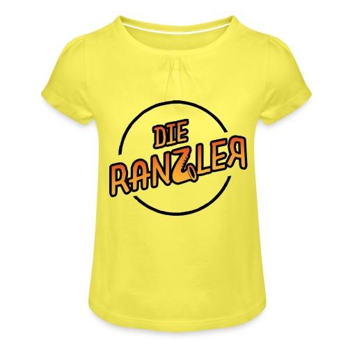 Die Ranzler Merch - Mädchen-T-Shirt mit Raffungen