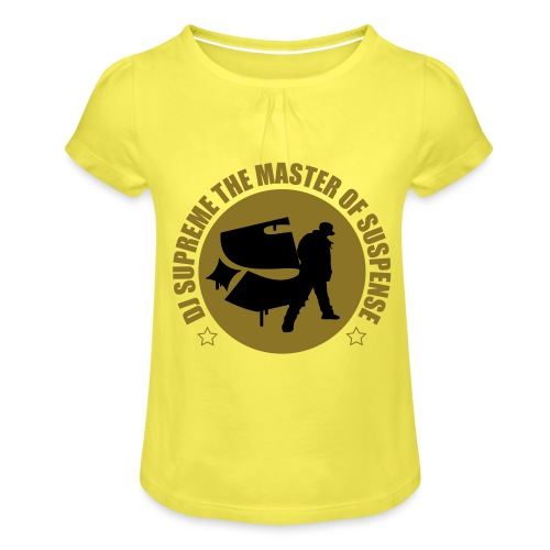Master of Suspense T - Girl's T-Shirt with Ruffles