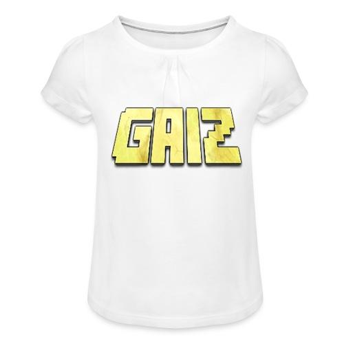 POw3r-gaiz bimbo - Maglietta da ragazza con arricciatura