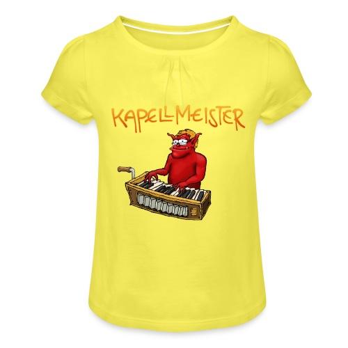 Kapellmeister - Girl's T-Shirt with Ruffles