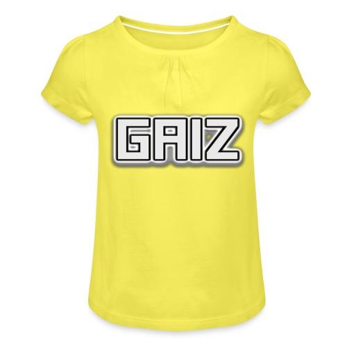 Gaiz-senza colore bimbi - Maglietta da ragazza con arricciatura