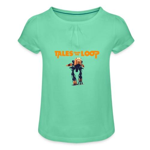 Tales from the loop - Camiseta para niña con drapeado