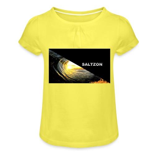 saltzon - Girl's T-Shirt with Ruffles