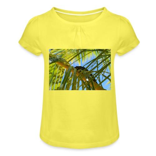 Camaleonte - Maglietta da ragazza con arricciatura