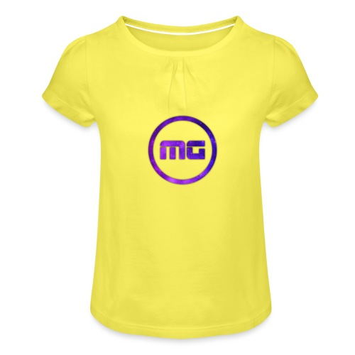 MG Galaxy - Girl's T-Shirt with Ruffles