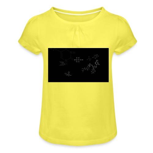 FessorVidenskabsTrøjen - Pige T-shirt med flæser