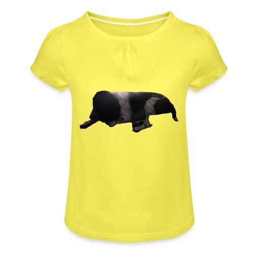 barnaby merch - Girl's T-Shirt with Ruffles