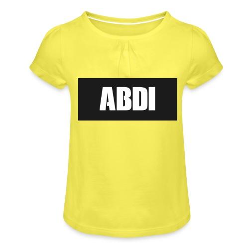 Abdi - Girl's T-Shirt with Ruffles