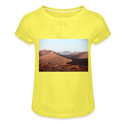Sahara - Girl's T-Shirt with Ruffles