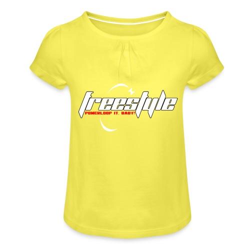 Freestyle - Powerlooping, baby! - Girl's T-Shirt with Ruffles