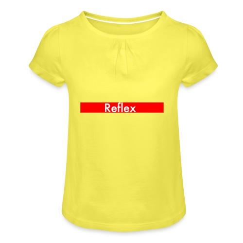 Reflex Logo - Girl's T-Shirt with Ruffles