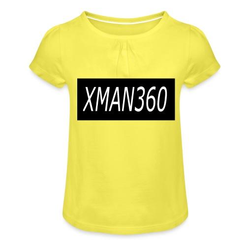 Merch design - Girl's T-Shirt with Ruffles