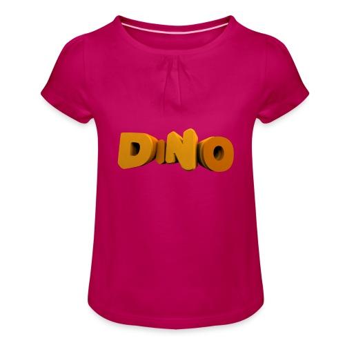 veste - T-shirt à fronces au col Fille