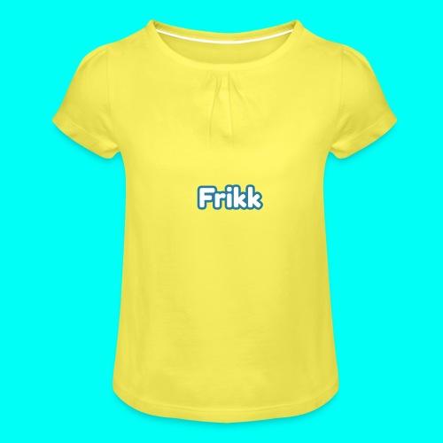 Frikk - Jente-T-skjorte med frynser