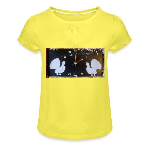 Metsot - Tyttöjen t-paita, jossa rypytyksiä